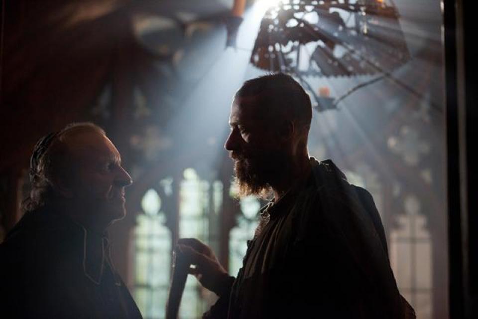 Вольжан и епископ Дински