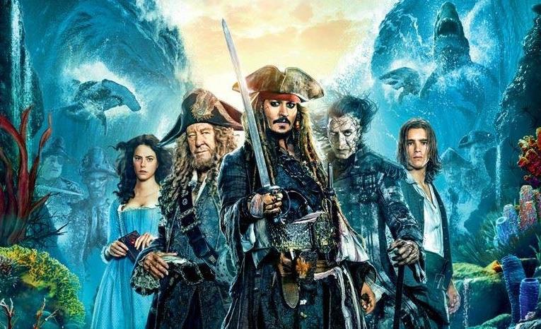 Премьера второго трейлера к фильму «Пираты Карибского моря: мертвецы не рассказывают сказки»