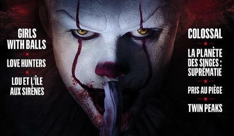 Злой клоун Пеннивайз из новой экранизации «Оно» на обложке свежего номера Mad Movies