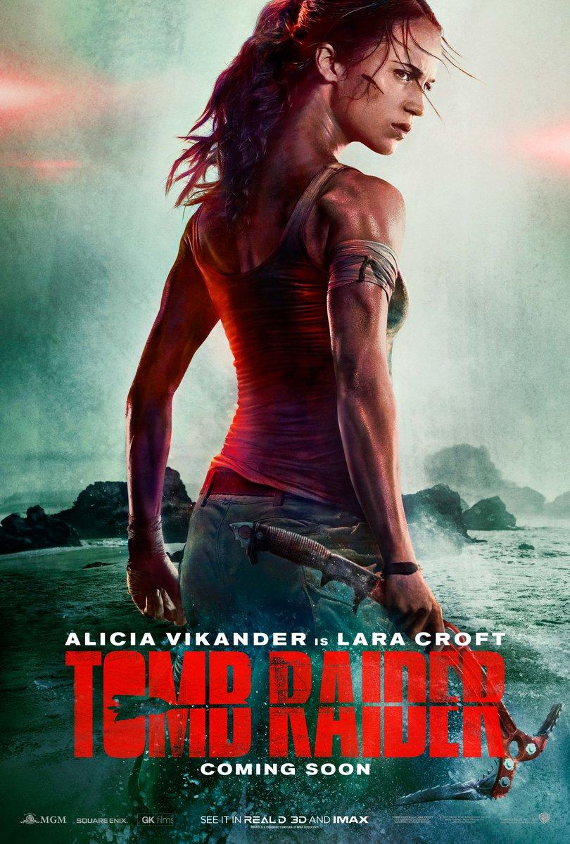 [Tomb Raider: Лара Крофтk. Опубликован первый постер к фильму